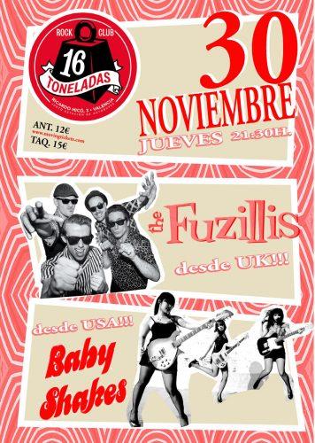 The Fuzilis + Baby Shakes @ 16 Toneladas | València | Comunidad Valenciana | España