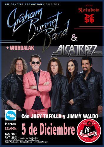 Graham Bonnet Band + Alcatrazz @ 16 Toneladas | València | Comunidad Valenciana | España