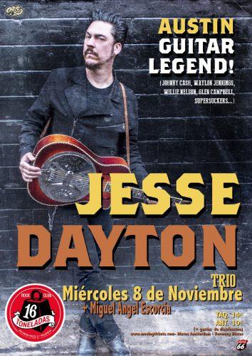 Jesse Dayton Trio + Miguel Angel Escorcia @ 16 Toneladas | València | Comunidad Valenciana | España