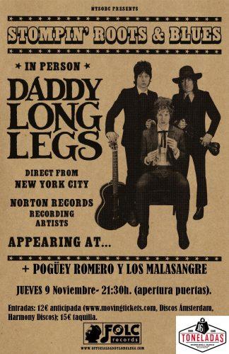 Daddy Longlegs + Pogüey Romero y los Malasangre @ 16 Toneladas | València | Comunidad Valenciana | España