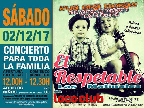 El Respetable (Las matinales de El Loco Club) @ El Loco Club | València | Comunidad Valenciana | España