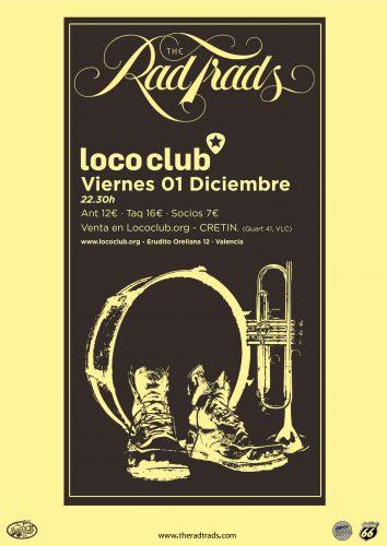 The Rad Trads @ El Loco Club | València | Comunidad Valenciana | España