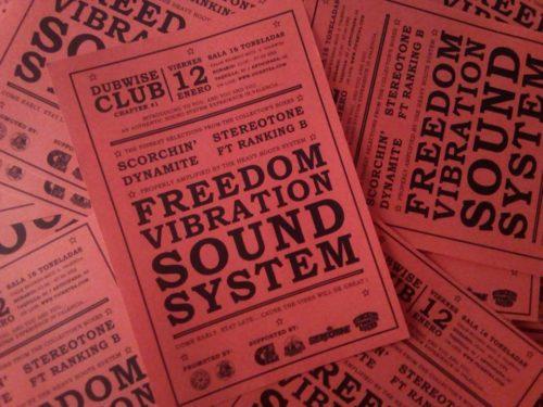 Freedom Vibration Sound System @ 16 Toneladas | València | Comunidad Valenciana | España