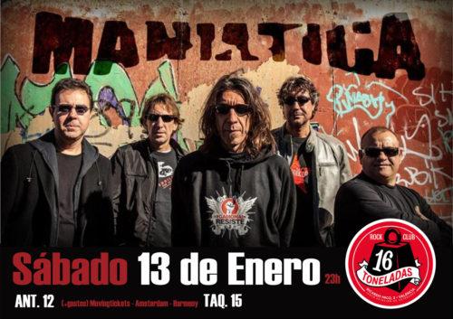 Maniatica @ 16 Toneladas | València | Comunidad Valenciana | España