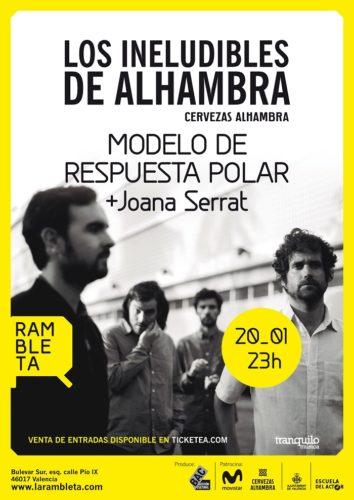 Modelo de Respuesta Solar + Joana Serrat @ La Rambleta | València | Comunidad Valenciana | España