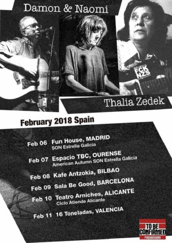 Thalia Zedek + Damon & Naomi @ 16 Toneladas | València | Comunidad Valenciana | España