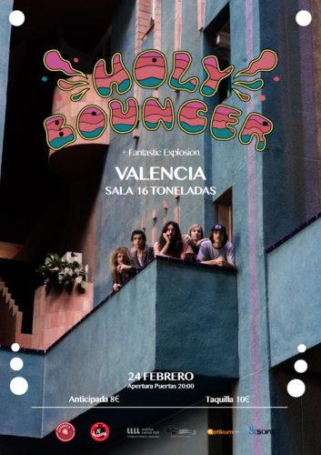 Holy Bouncer + Fantastic Explosion @ 16 Toneladas | València | Comunidad Valenciana | España