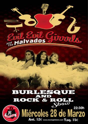 Evil Evil Girrrls & The Malvados @ 16 Toneladas | València | Comunidad Valenciana | España