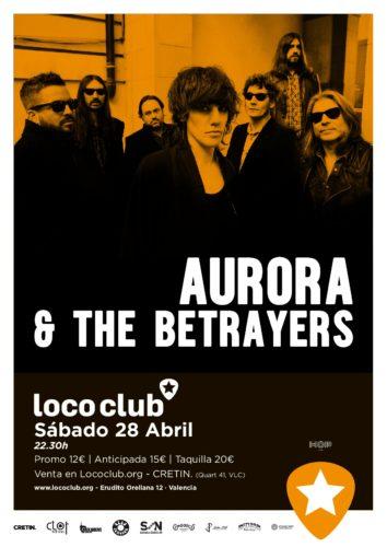 Aurora & The Betrayers @ El Loco Club | València | Comunidad Valenciana | España