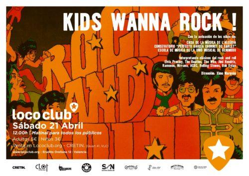Kids Wanna Rock (Matinal) @ El Loco Club | València | Comunidad Valenciana | España