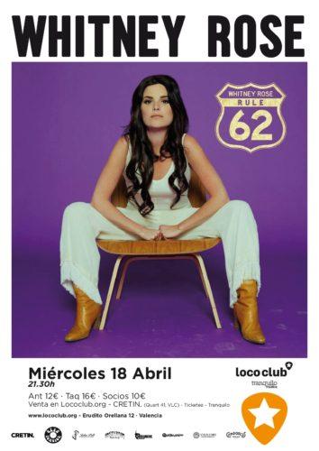 Whitney Rose @ El Loco Club | València | Comunidad Valenciana | España