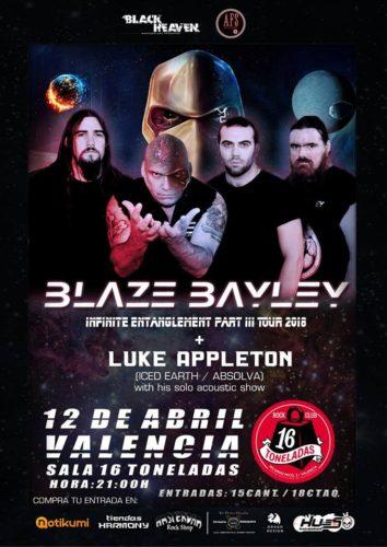 Blaze Bailey + Luke Appleton @ 16 Toneladas | València | Comunidad Valenciana | España