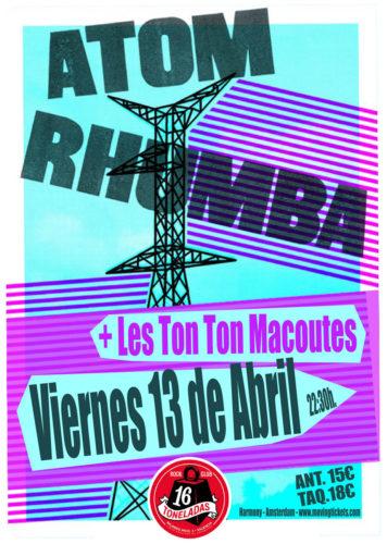 Atom Rhumba + Les Ton Ton Macoutes @ 16 Toneladas | València | Comunidad Valenciana | España