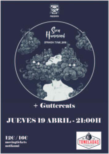 Sven Hammond + Guttercats @ 16 Toneladas | València | Comunidad Valenciana | España