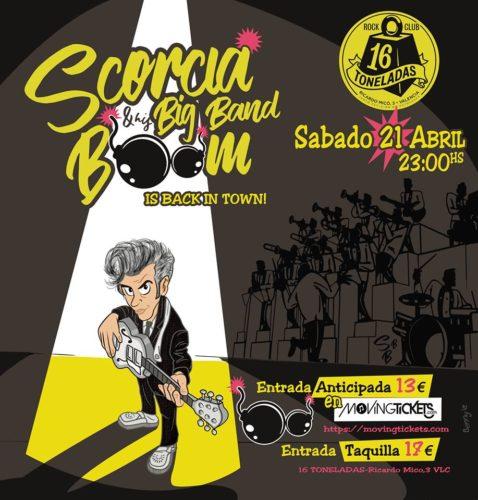 Scorcia & His Big Bam Boom @ 16 Toneladas | València | Comunidad Valenciana | España
