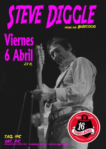 Steve Diggle (From Buzzcocks) @ 16 Toneladas | València | Comunidad Valenciana | España