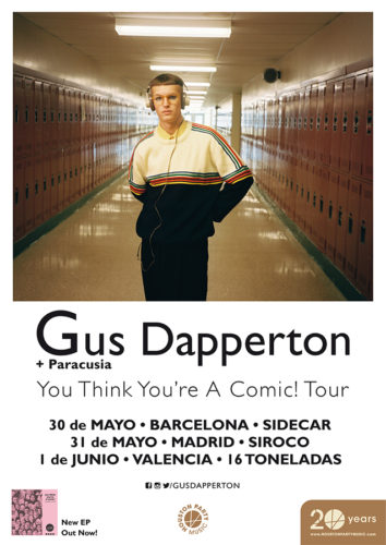 Gus Dapperton + Paracusia @ 16 Toneladas | València | Comunidad Valenciana | España