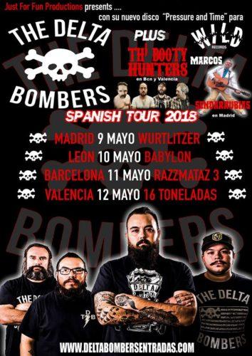 THE DELTA BOMBERS + TH' BOOTY HUNTERS @ 16 Toneladas   València   Comunidad Valenciana   España