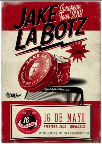 Jake La Botz @ 16 Toneladas | València | Comunidad Valenciana | España