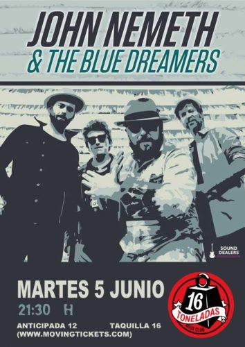 John Nemeth & The Blue Dreamers @ 16 Toneladas | València | Comunidad Valenciana | España
