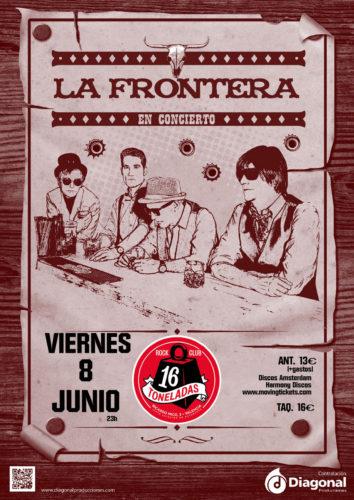 La Frontera @ 16 Toneladas | València | Comunidad Valenciana | España
