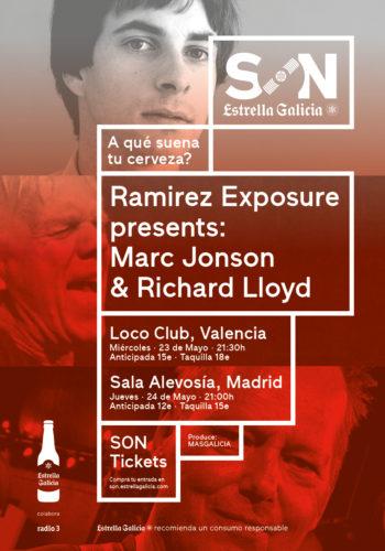 Ramirez Exposure presents Marc Jonson & Richard Lloyd @ El Loco Club   València   Comunidad Valenciana   España