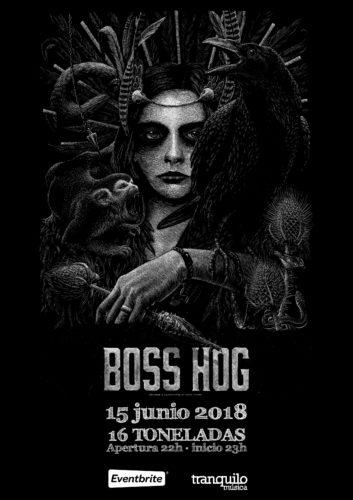 Boss Hog @ 16 Toneladas | València | Comunidad Valenciana | España