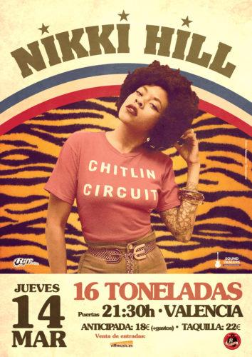NIKKI HILL @ Sala 16 Toneladas