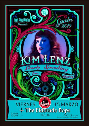 KIM LENZ + The ElDorado Bops @ Sala 16 Toneladas