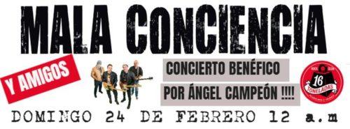 MALA CONCIENCIA y amigos @ Sala 16 Toneladas