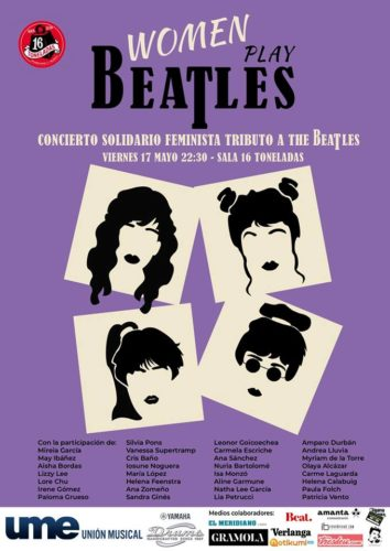 Women Play Beatles @ Sala 16 Toneladas
