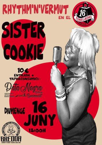 SISTER COOKIE @ Sala 16 Toneladas