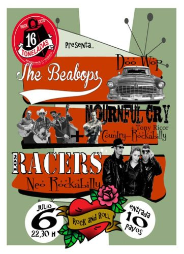 RACERS + Mournful Cry + The Beabops @ Sala 16 Toneladas