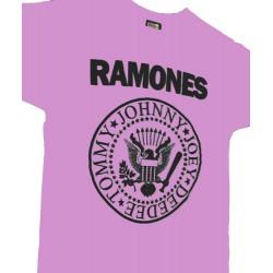 Camiseta Ramones Rosa