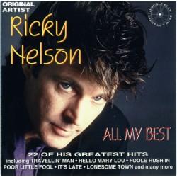 RICKY NELSON - All My Best CD