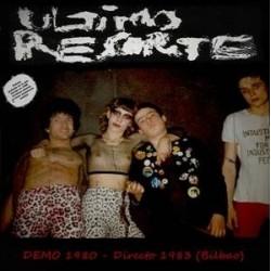 ULTIMO RESORTE - Demo 1980 - Directo 1983 LP