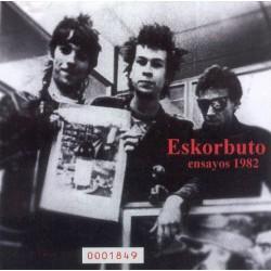 ESKORBUTO – Ensayos 1982 CD