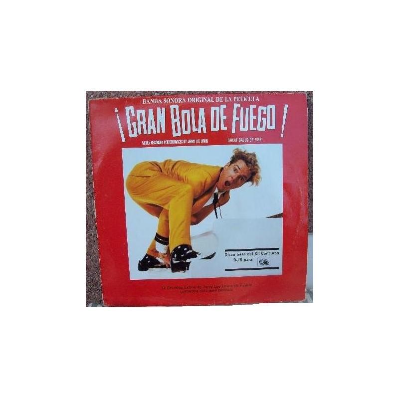 OST - ¡Gran Bola De Fuego! LP