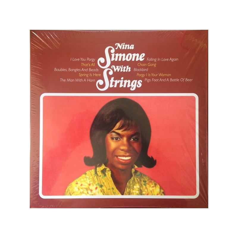 NINA SIMONE - Nina Simone With Strings LP