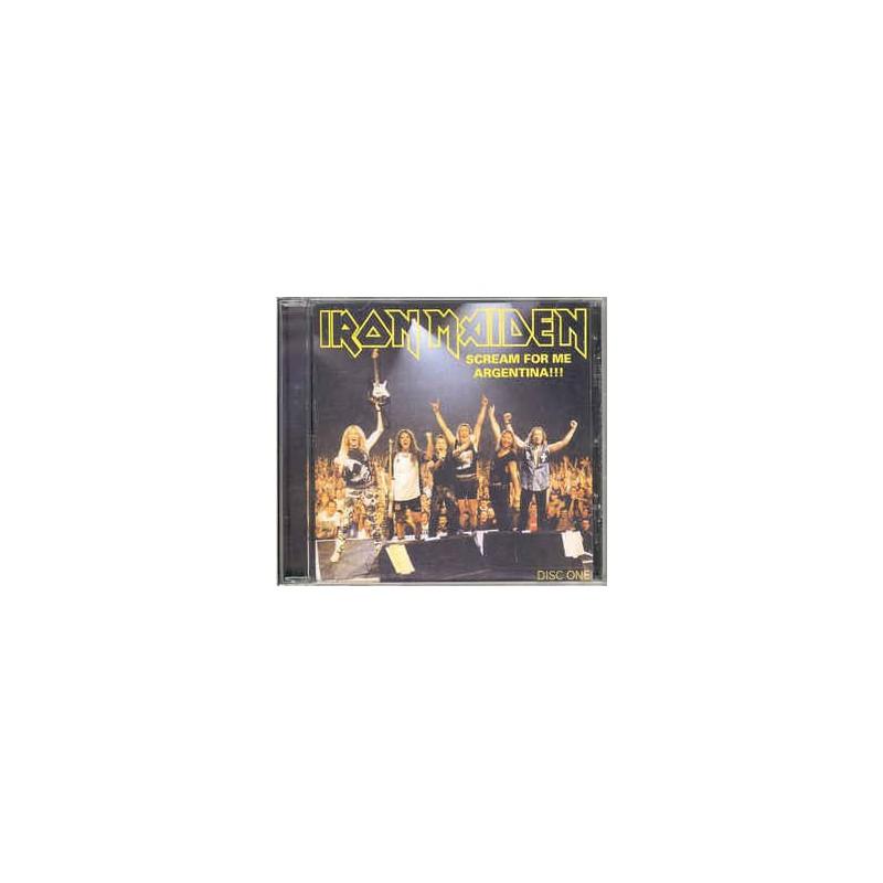 IRON MAIDEN - Scream For Me Argentina, Disc One