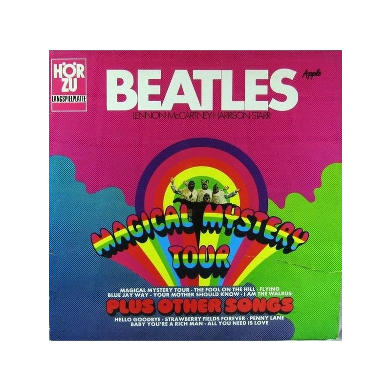 BEATLES – Magical Mystey Tour (Plus Other Songs)
