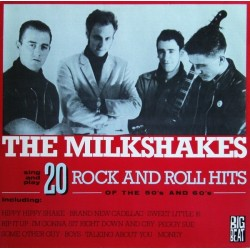 THE MILKSHAKES ‎– 20 Rock And Roll Hits Of The 50's And 60's LP