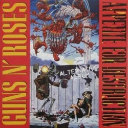 GUNS N' ROSES ‎– Appetite For Destruction Alternative Album LP