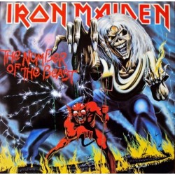 IRON MAIDEN ‎– The Number Of The Beast LP