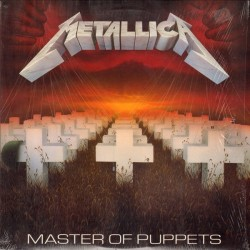 METALLICA ‎– Master Of Puppets LP