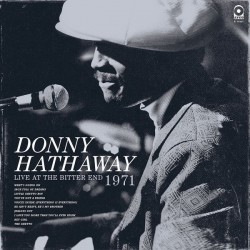 DONNY HATHAWAY ‎– Live At The Bitter End 1971 LP