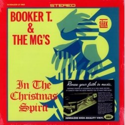 BOOKER T. & THE MG'S – In The Christmas Spirit LP