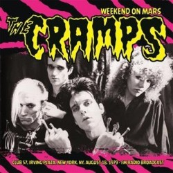 THE CRAMPS ‎– Weekend On Mars-Club 57 LP