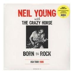 NEIL YOUNG & CRAZY HORSE - Born To Rock-Usa Tour 1986 LP