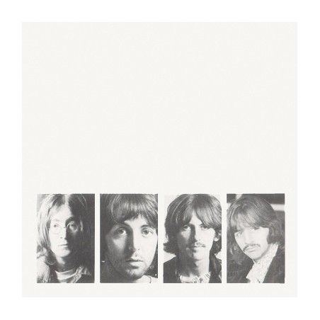 THE BEATLES - White Unplugged Album LP